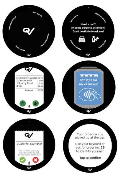 proces spraakgestuurdbestellen voqus qv technologies